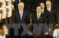 Hình ảnh lãnh đạo Brunei, Australia và New Zealand đến Đà Nẵng