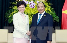 Thủ tướng tiếp Trưởng Khu hành chính đặc biệt Hong Kong, Trung Quốc