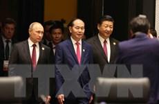 Hình ảnh Hội nghị các Nhà lãnh đạo Kinh tế APEC lần thứ 25
