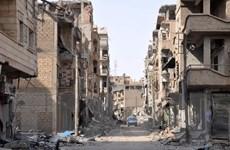 Tổ chức khủng bố IS tái chiếm gần nửa thành phố Albu Kamal của Syria