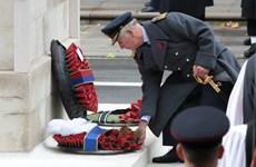 """Thái tử Anh Charles lần đầu chủ trì buổi lễ """"Ngày Tưởng Nhớ"""""""