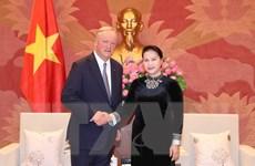 Chủ tịch Quốc hội Nguyễn Thị Kim Ngân tiếp Chủ tịch Deloitte Toàn cầu