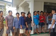 5 thuyền trưởng Việt Nam kêu oan sẽ được Indonesia xét xử ngày 16/11