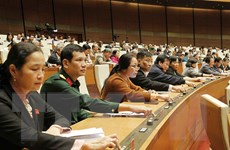 Quốc hội biểu quyết thông qua hai luật và một nghị quyết