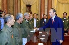 Chủ tịch nước: Việt Nam luôn ghi nhớ sự giúp đỡ của nhân dân Lào
