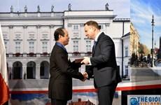 Tổng thống Ba Lan, Phu nhân gặp mặt cựu lưu học sinh Việt Nam