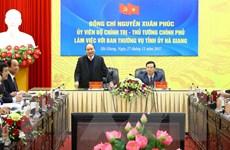 Thủ tướng Nguyễn Xuân Phúc: Hà Giang cần tái cơ cấu mạnh mẽ