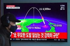 Hàn Quốc: Vụ phóng tên lửa của Triều Tiên có thể đã không thành công