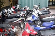 Triệt phá hàng loạt ổ nhóm trộm cắp, tiêu thụ xe máy sang Trung Quốc