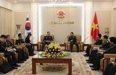 Tăng cường hợp tác lục quân hai nước Việt Nam và Hàn Quốc