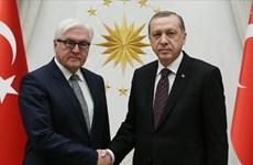 Tổng thống Thổ Nhĩ Kỳ và Đức điện đàm cải thiện quan hệ song phương