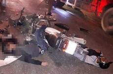 Tai nạn xe máy kinh hoàng trên đường Hồ Chí Minh, 2 người chết tại chỗ