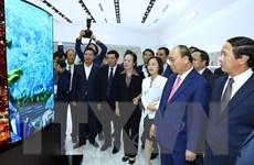Thủ tướng thị sát một số công trình kinh tế-xã hội tại Hải Phòng