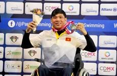Võ Thanh Tùng giành huy chương thứ 3 tại giải bơi người khuyết tật
