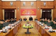 Tổng Bí thư chủ trì Hội nghị Quân ủy Trung ương phiên cuối năm