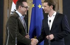 Đảng cực hữu tham gia chính phủ liên minh cầm quyền ở Áo