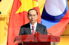 Phát biểu của Chủ tịch nước bế mạc Năm Đoàn kết Hữu nghị Việt-Lào