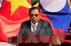 Phát biểu của Tổng Bí thư Lào bế mạc Năm đoàn kết hữu nghị Lào-Việt