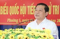 Chủ tịch Hội Nông dân Việt Nam Lại Xuân Môn làm Bí thư Cao Bằng