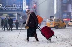 Nhiệt độ tiếp tục giảm sâu tại khu vực Đông Bắc nước Mỹ