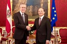 Áo luôn coi trọng và ủng hộ việc thúc đẩy quan hệ với Việt Nam