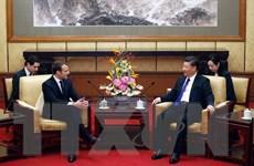 Lãnh đạo Trung Quốc-Pháp cam kết thúc đẩy hợp tác song phương