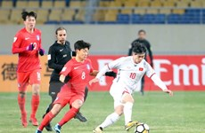 Các cầu thủ U23 Việt Nam thừa nhận đối thủ Hàn Quốc quá mạnh