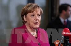 Bà Merkel lên tiếng sau khi đạt thỏa thuận với SPD về lập chính phủ