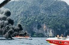 Nổ xuồng du lịch chở khách Trung Quốc ở Thái Lan, 16 người bị thương