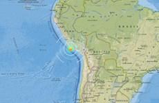 Động đất 7,3 độ richter sát bờ biển Peru, cảnh báo sóng thần
