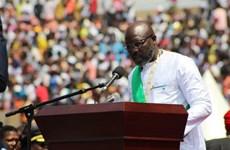 Cựu ngôi sao bóng đá George Weah nhậm chức Tổng thống Liberia