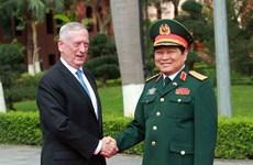 Hội đàm giữa hai bộ trưởng Quốc phòng Việt Nam và Hoa Kỳ