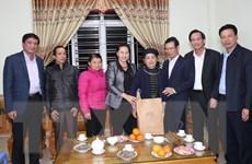Chủ tịch Quốc hội chúc Tết cán bộ, nhân dân biên giới Hà Giang