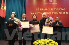 Không có tác phẩm văn xuôi, thơ đạt Giải thưởng Hội Nhà văn Việt Nam
