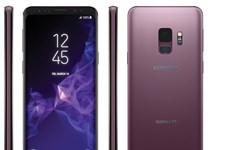 Rò rỉ ảnh Galaxy S9 màu tím tuyệt đẹp, cảm biến vân tay ở mặt sau