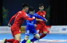 Futsal châu Á 2018: Việt Nam chạm mặt Uzbekistan tại tứ kết