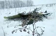Video ghi lại khoảnh khắc chiếc máy bay An-148 lao xuống mặt đất