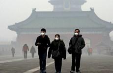 Thủ đô Trung Quốc chìm trong khói mù dịp Tết Nguyên đán Mậu Tuất