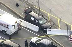 Mỹ điều tra vụ nổ súng bên ngoài cơ quan an ninh quốc gia