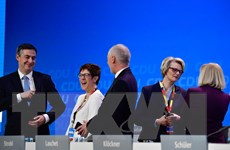 Đảng của Thủ tướng Đức xem xét thỏa thuận lập chính phủ liên minh