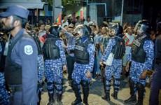 Khủng hoảng chính trị ở Maldives: Cảnh sát ban bố lệnh giới nghiêm
