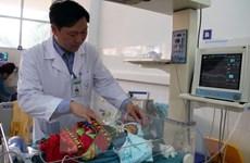 Phẫu thuật thành công cho bệnh nhi sơ sinh bị dị tật không có cơ hoành
