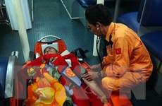 Cứu kịp thời thuyền viên người nước ngoài bị nhồi máu cơ tim trên biển