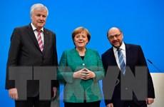CDU/CSU và SPD nhóm họp thảo luận lập chính phủ ở Đức