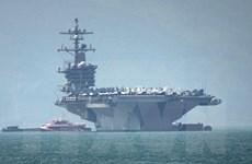 Đà Nẵng đón đoàn tàu sân bay USS Carl Vinson của Hải quân Hoa Kỳ