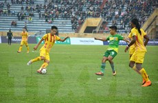 V-League 2018: Tân binh Nam Định bị chia điểm trên sân nhà