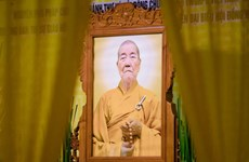 Phó Pháp chủ Giáo hội Phật giáo Việt Nam Thích Thanh Sam viên tịch