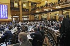 Quốc hội Gruzia thông qua sửa đổi hiến pháp, phân lại ghế quốc hội