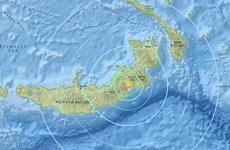 Quốc đảo Papua New Guinea lại rung chuyển mạnh vì động đất