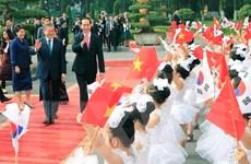 Tuyên bố chung Việt Nam-Hàn Quốc hướng tới tương lai